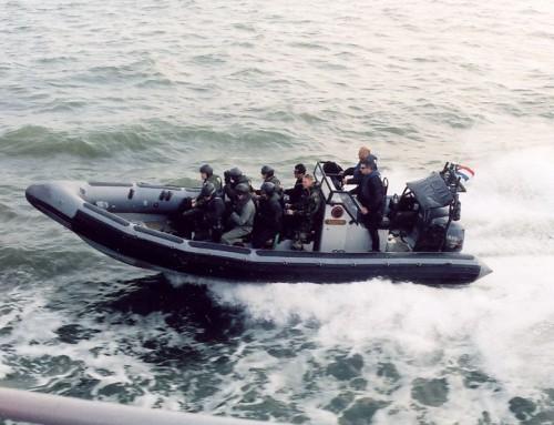De sporttest voor de mariniersopleiding