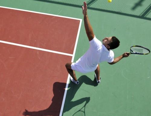 Sporttesten voor tennissers